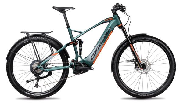 Corratec E-Power MTC120 Elite, E-MTB Bike, E-Fully Bike,