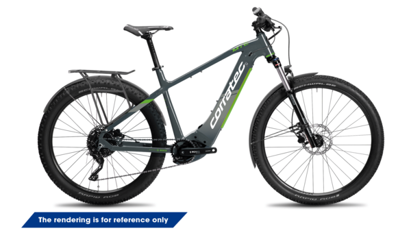 Corratec E-Power MTC 12S Trinity Tube Gent, E-Bike, Hardtail,