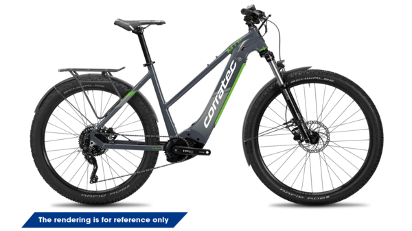 Corratec E-Power MTC 12S Trinity Tube Trapez, E-Bike, Hardtail,