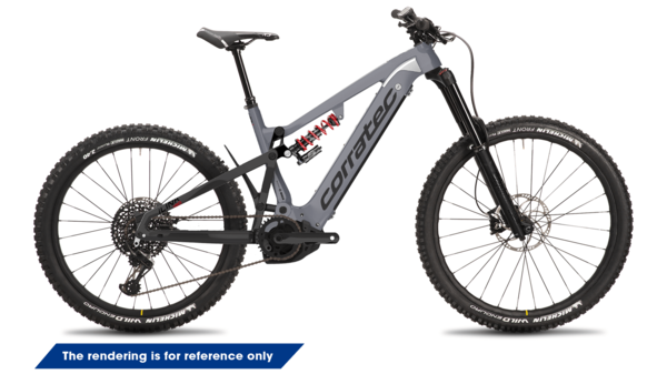 Corratec E-Power iLink 180 Race, E-MTB Bike, E-Fully Bike,